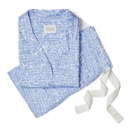 Love Birds Pyjamas Blue