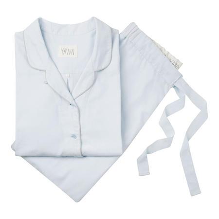 Chambray Pyjamas Pale Blue