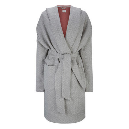 Quilted Dreamcoat Robe Grey