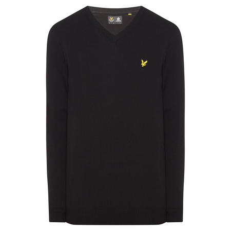 V-Neck Sweater Black