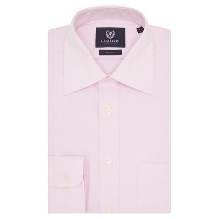 Long Sleeve Oxford Shirt Pink