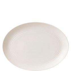 Gordon Ramsay Maze Oval Dish 32cm White