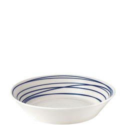 Pacific Pasta Bowl 22cm Lines Multicolour