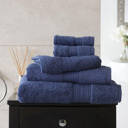 Bliss Towel 650 Gram Dark Blue