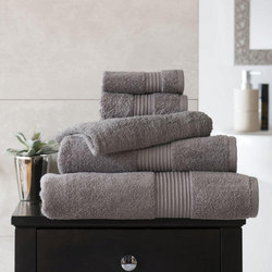 Bliss Towel 650 Gram Grey