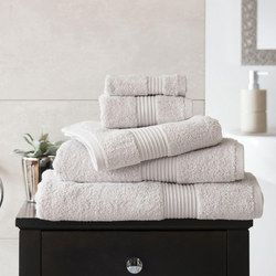 Bliss 650gsm Towel Silver