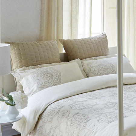 Odetta Oxford Pillowcase Cream