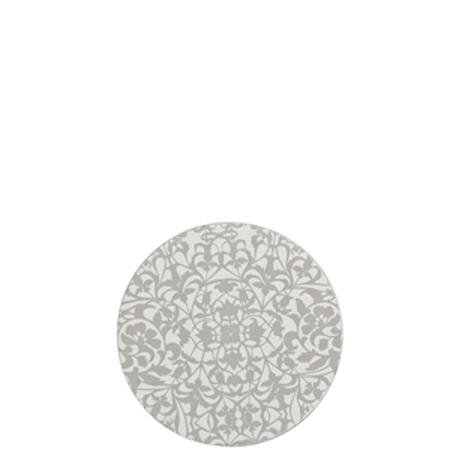 Monsoon Filigree Silver Round Coasters Set of 4