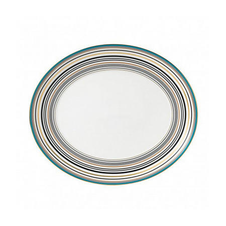 Vibrance Oval Platter 33cm