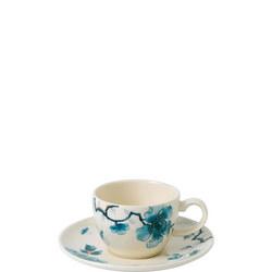 Blue Bird Coffee Cup & Saucer