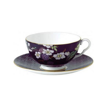 Tea Garden 2 Piece Set Teacup & Saucer Blackberry