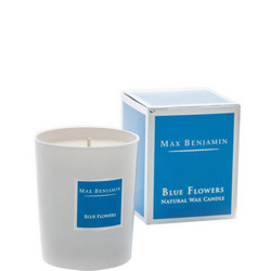 Blue Flowers Scented Candle