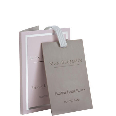 French Linen Water Scented Card