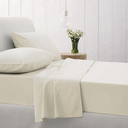 500Tc Cotton Sateen Pillowcases Chalk