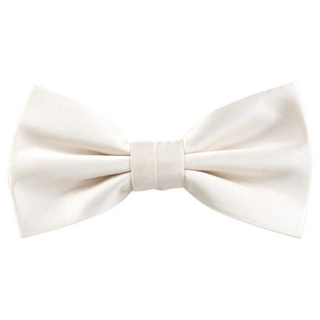 Silk Bow Tie Cream