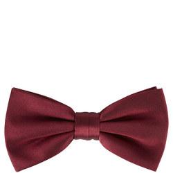 Silk Bow Tie Wine