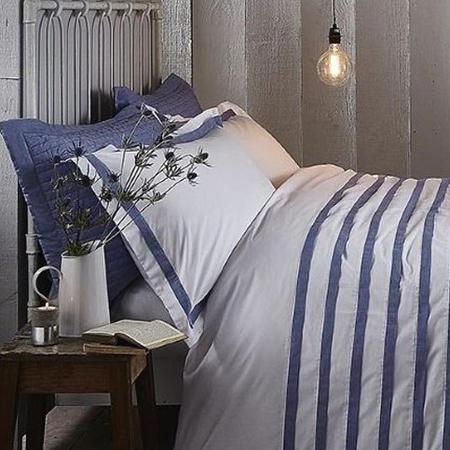 Chambray Pleats Standard Pillowcase