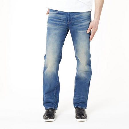 3301 Loose Fit Jeans Mid Blue Wash