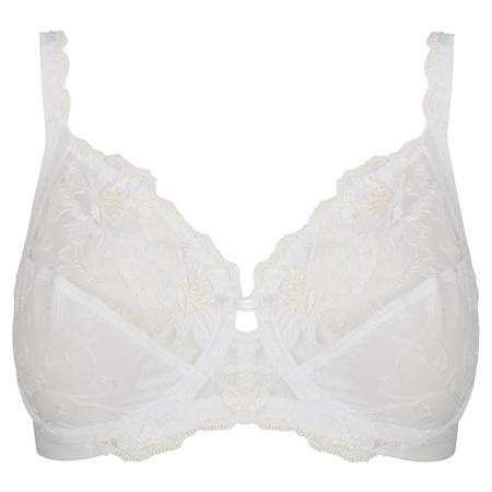 608a0e577c194 Triumph Modern Bloom Full Cup Bra White