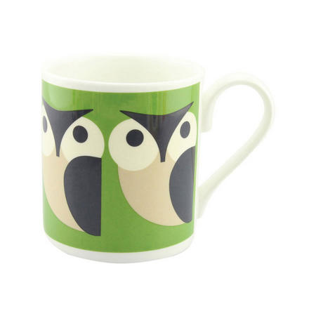 Apple Owl Mug Multicolour