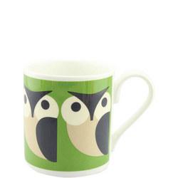 Apple Owl Mug Multicolour