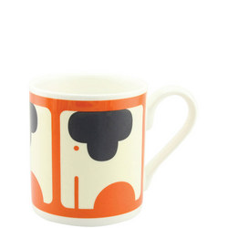 Persimmon Elephant Mug Multicolour