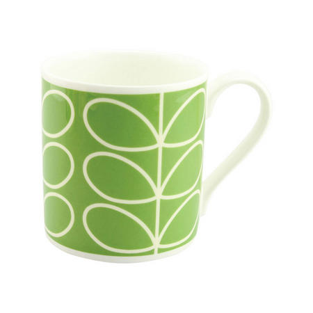 Large Stem Mug Green