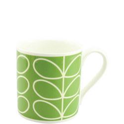 Large Stem Mug Green