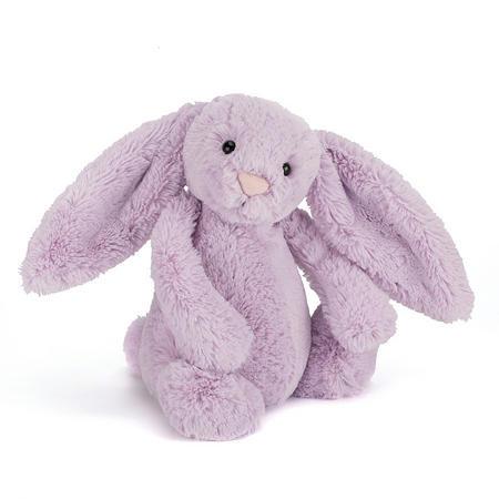 Bashful Hyacinth Bunny 31cm Purple