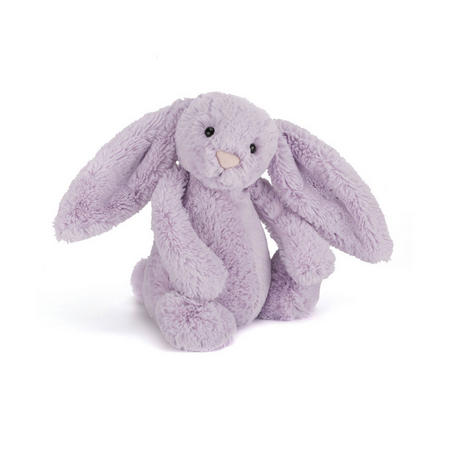 Bashful Hyacinth Bunny 18cm Purple