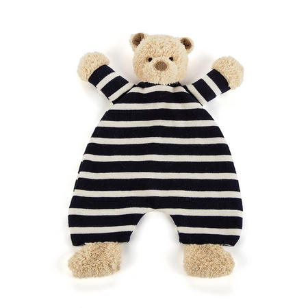 Breton Bear Soother Blue