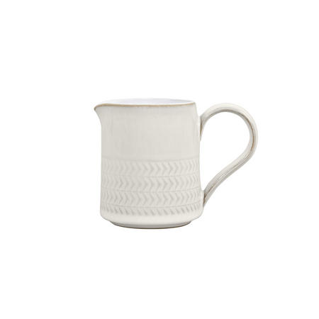 Natural Canvas Textured Small Jug