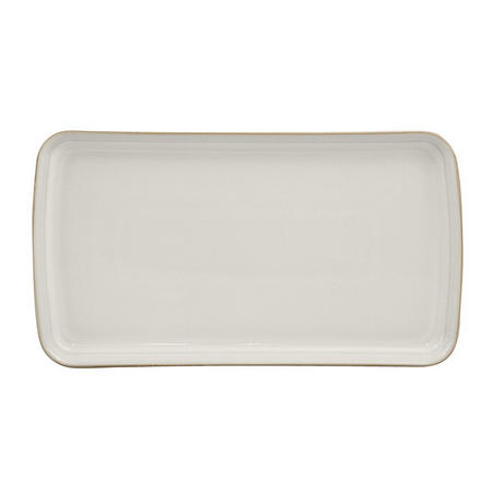 Natural Canvas Small Rectangular Platter