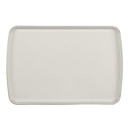 Natural Canvas Large Rectangular Platter