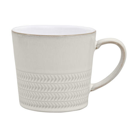 Natural Canvas Textured Large Mug