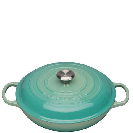 Cast Iron Shallow Casserole Dish