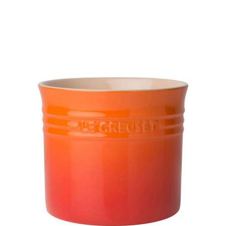 Stoneware Large Utensil Jar Volcanic