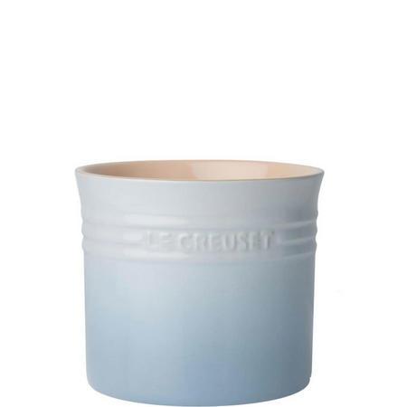 Stoneware Large Utensil Jar Coastal Blue