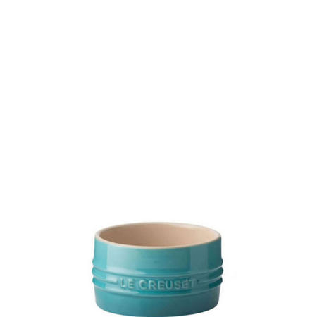 Stoneware Stackable Ramekin Teal