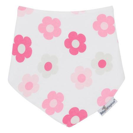 Daisy Bandana Bib Pink