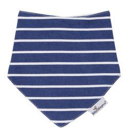 Stripes Bandana Bib Blue