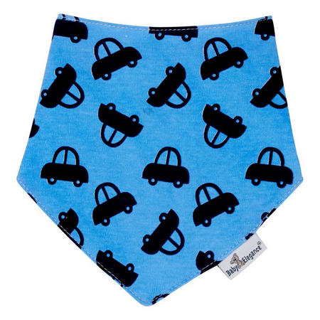 Cars Bandana Bib Blue