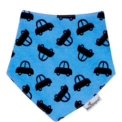 Cars Bandana Bib Blue