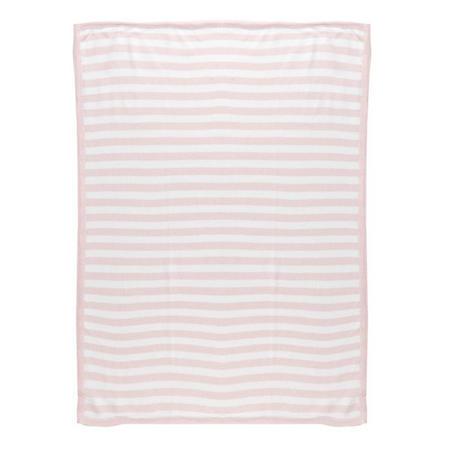 Pearl Knit Blanket Pink