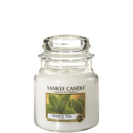 White Tea Jar Candle