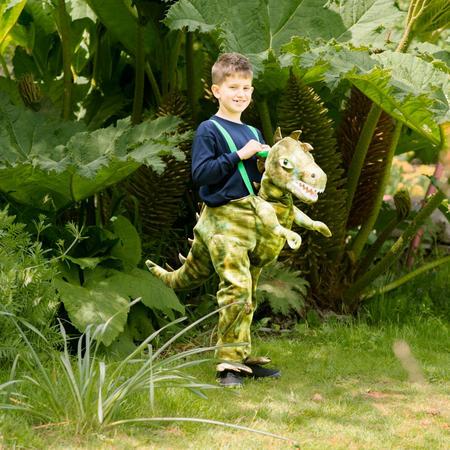 Dinosaur Ride On Green