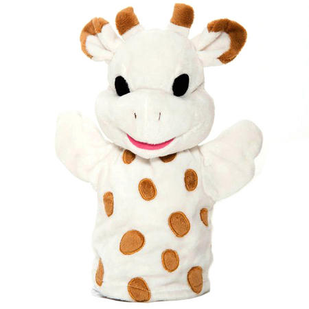 Sophie the Giraffe Hand Puppet Cream