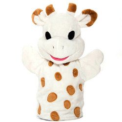Sophie the Giraffe Hand Puppet Cream
