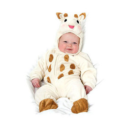 Sophie the Giraffe Romper Suit Cream