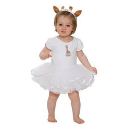 Sophie the Giraffe Tutu Outfit Cream